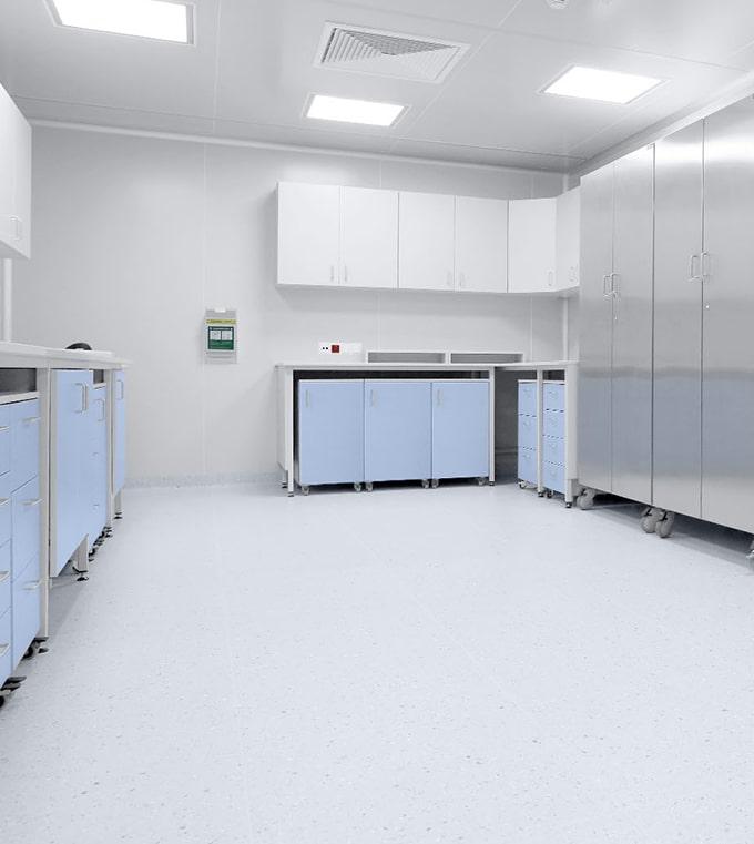 Realizacja pomieszczenia czystego clean room